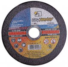 Круг отрезной абразивный по металлу 115х25х222мм ЛУГА 3612-115-25