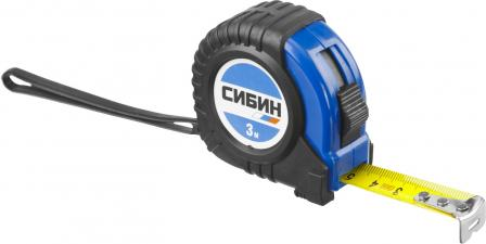 Рулетка измерительная СИБИН 34019-03-16