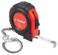 Мини-рулетка с кольцом для ключей ЗУБР МАСТЕР 34143-01