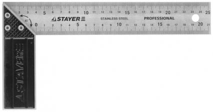 Угольник STAYER PROFESSIONAL 3431-25_z01