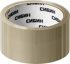 Лента клейкая упаковочная СИБИН 12055-50-50_z02