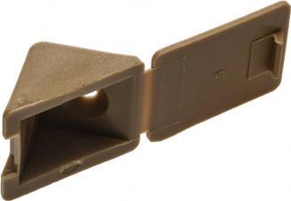 Уголок мебельный в комплекте с саморезами ЗУБР 4-308256-2