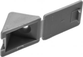 Уголок мебельный в комплекте с саморезами ЗУБР 4-308256-6