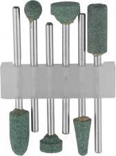 Набор : Насадки шлифовальные абразивные с оправкой карбид кремния STAYER 29921-H6
