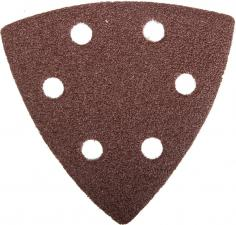 Треугольник шлифовальный на велкро основе ЗУБР МАСТЕР 35583-080