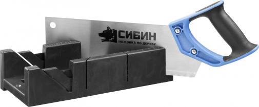 Стусло пластмассовое с ножовкой СИБИН 15385-35